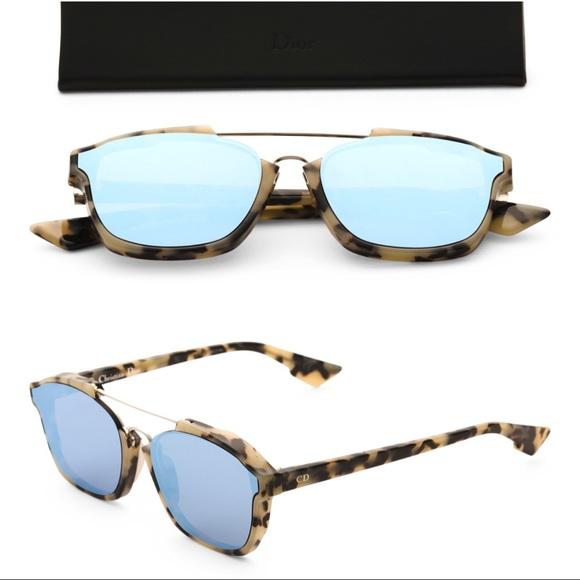 315d9b35ce8f4 Dior Abstract Blue Mirrored Sunglasses A4E A4 58